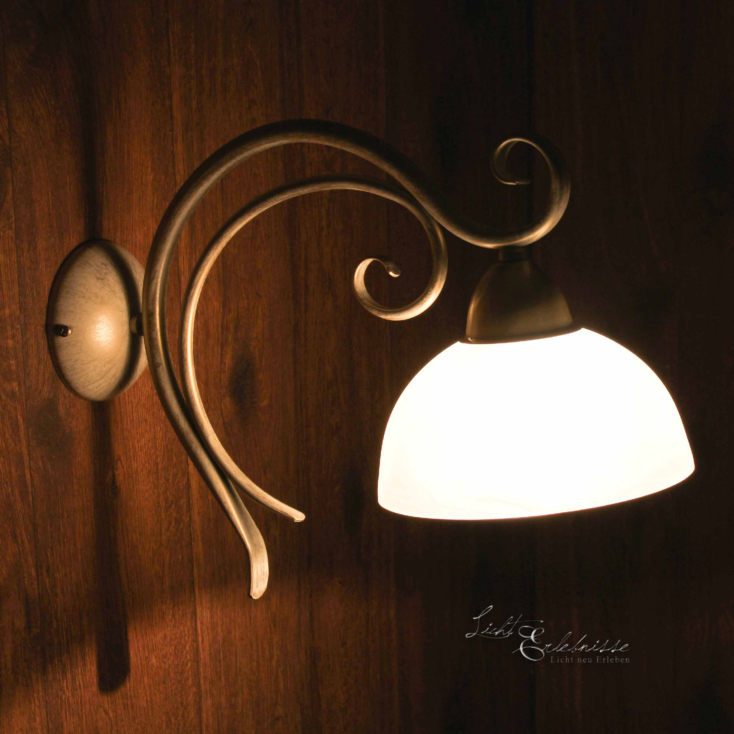 Wandleuchte Shabby Chic E27 Lampe Wand Landhaus rustikal ...
