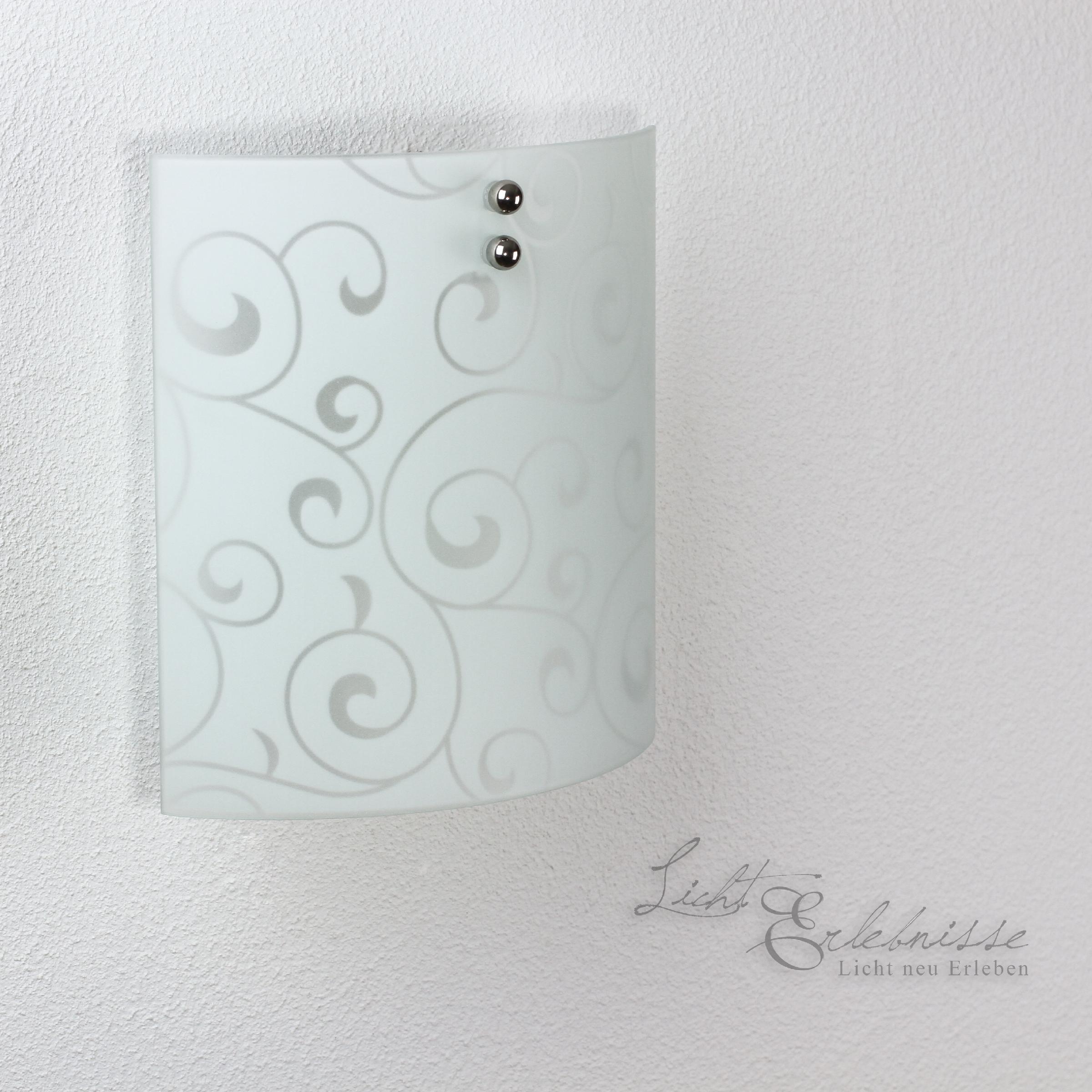 moderne glas wandleuchte flach wohnzimmer flur wand lampe