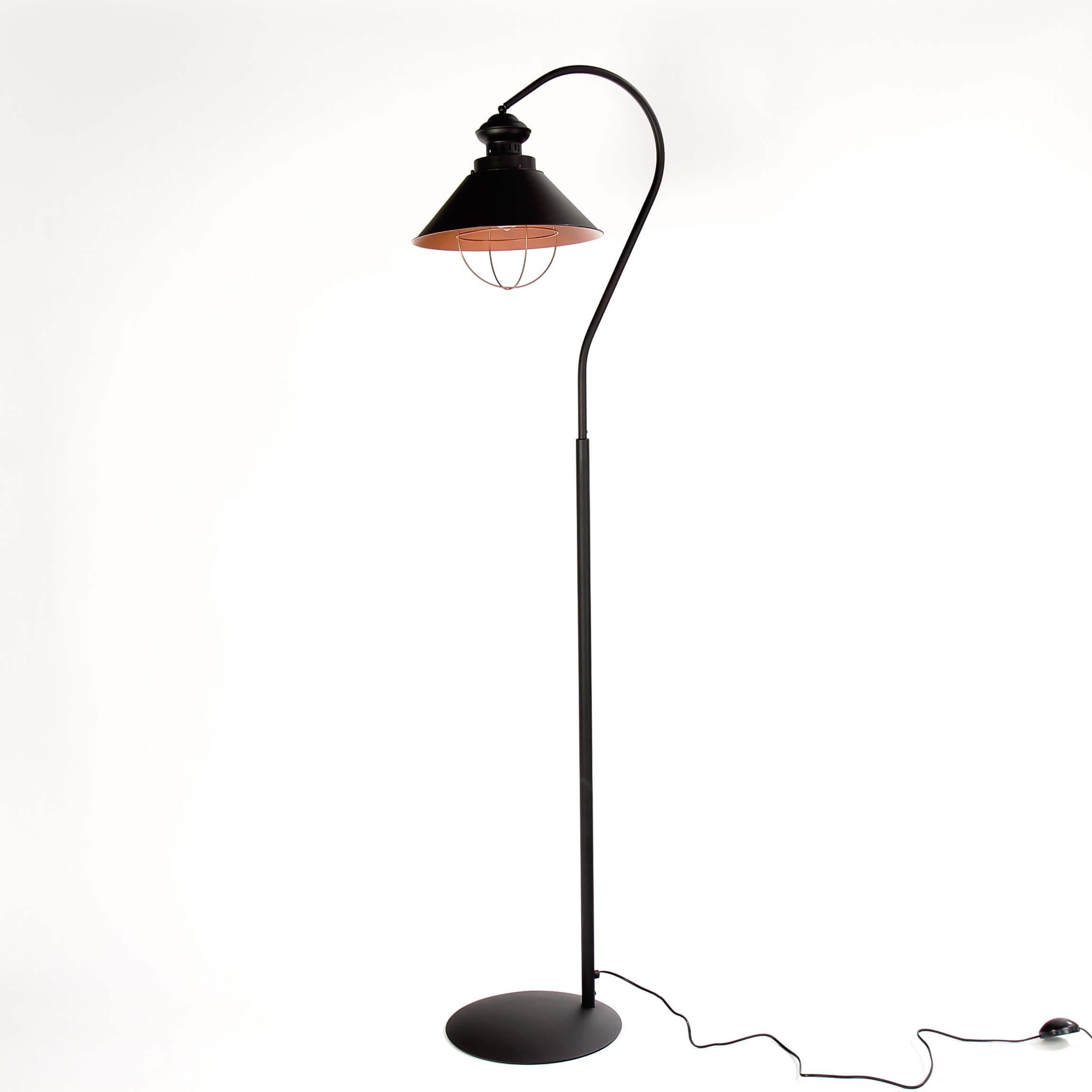Industrie Stehlampe Loft E27 H 1 8m Braun Kupfer Vintage
