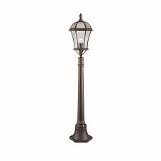 VINTAGE classico candelabro vie giardino illuminazione esterno Piantana Luci Vetro