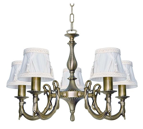 STILE LIBERTY Lampadario luce a sospensione ottone in bronzo ...