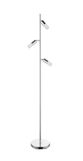 Moderno Led Lampada Verticale 3 Faretto Punti Da Lettura Luce