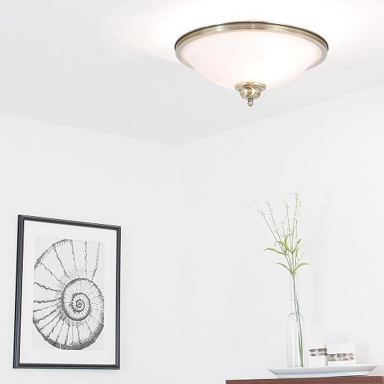 2x 6Watt LED Deckenleuchte im Jugendstil Deckenlampe Gründerzeit Lampe Leuchte