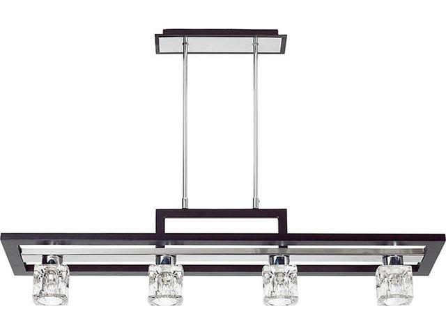 Plafoniere Con Legno : Plafoniera moderna in legno con schermo vetro xg w lampada