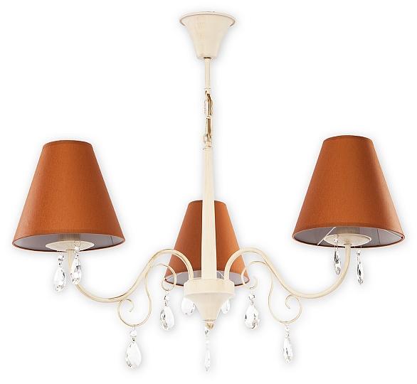 kronleuchter wei 70cm shabby chic e27 kristalllampe. Black Bedroom Furniture Sets. Home Design Ideas