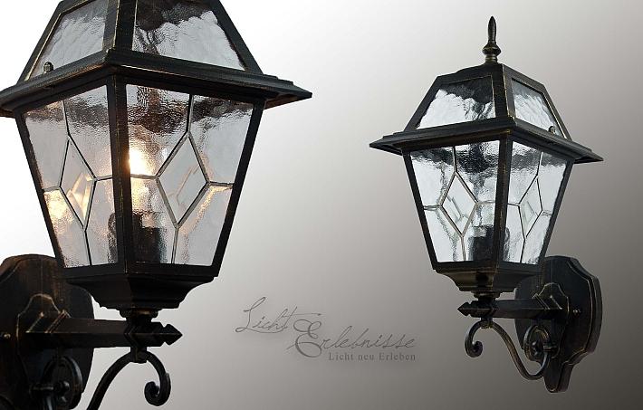 energiespar laterne f r au en in antik au enleuchte au enlampe garten leucht ebay. Black Bedroom Furniture Sets. Home Design Ideas
