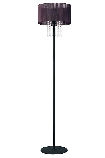 Piantana E27 H150cm Marrone Lampada in Stoffa Classico Piantana ...