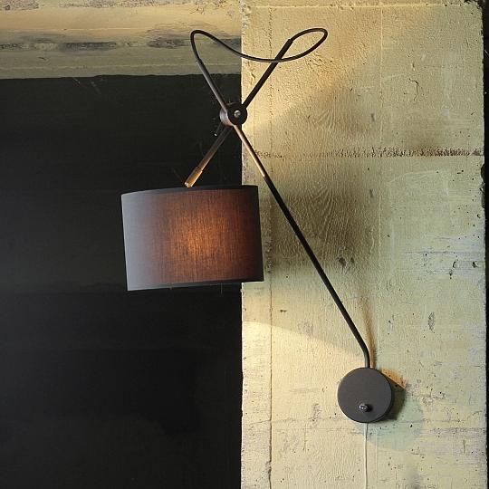 wandlampe verstellbar schwarz gold wandleuchte mit schalter loft lampe innen e14 ebay