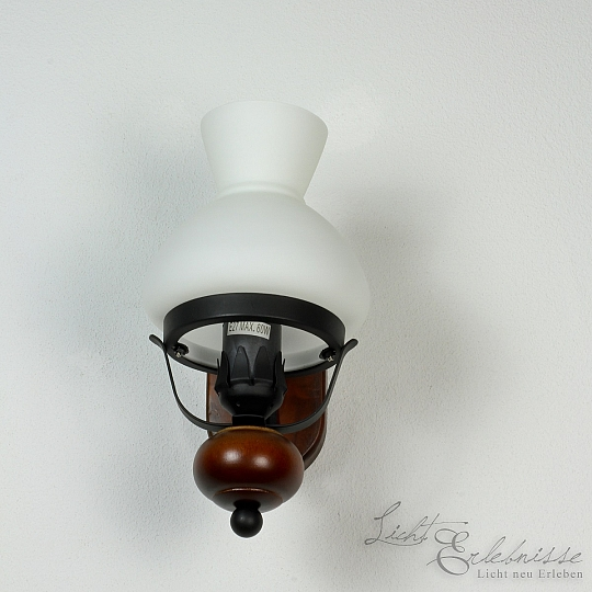 Rustikale Wandleuchte Im Landhausstil Wandlampe