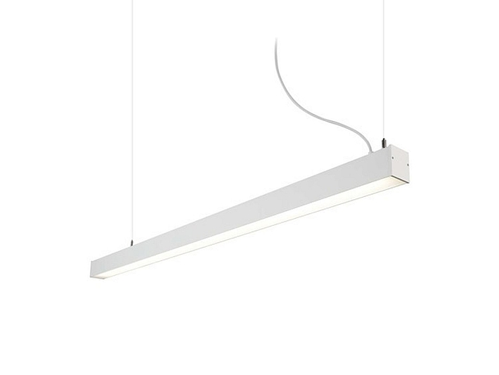 Plafoniera Led 150 Cm : Lampada pendente led a sospensione bianco 4000k studio 150cm