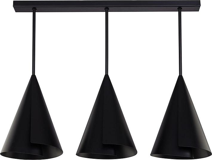 Plafoniere Da Soggiorno : Nero plafoniera paralumi kegelform design moderno soggiorno