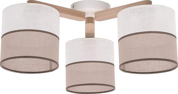 Plafoniere In Legno : Lampada luce plafoniera sospensione legno bianco design danese