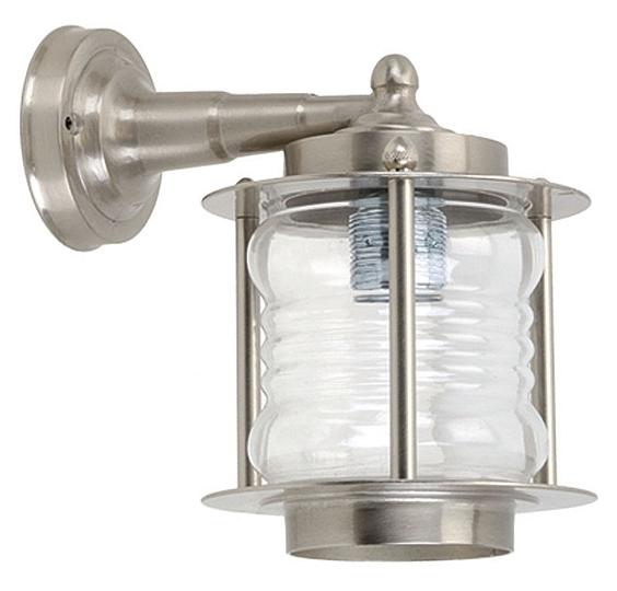 Wetterfeste Wand Lampe aus Messing Glas rostfrei Schiffslampe Laterne Außen