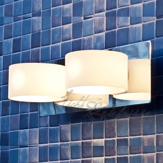 Halogen Wand-Badleuchte Badlampe Spiegelleuchte IP44 Wandlampe Badezimmer Lampen