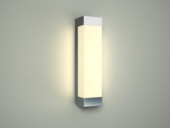 Elegante luce specchio in cromo led bagno moderno lampada da