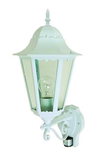 gro e au en wand leuchte mit bewegungsmelder 53cm e27 schwarz hof fassade lampe ebay. Black Bedroom Furniture Sets. Home Design Ideas
