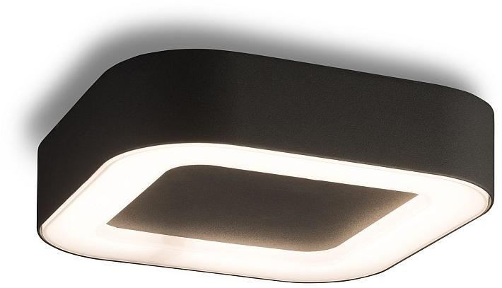 Plafoniera Da Esterno Grigia : Led esterni plafoniera lampada da soffitto grigio scuro alluminio
