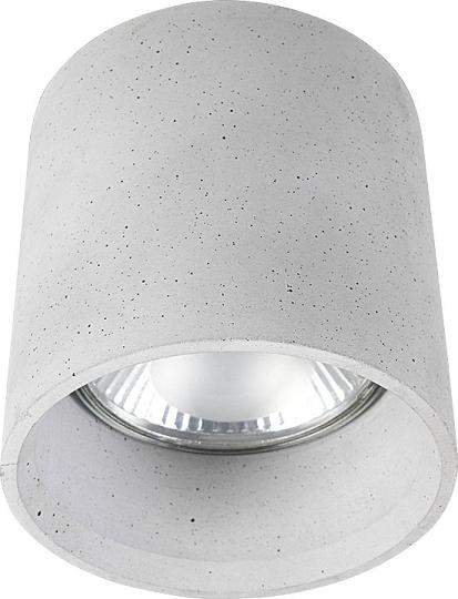 Dezente Aufbau Spotstrahler in Silber GU10 Ø13cm Deckenspot NEU innen Wohnzimmer