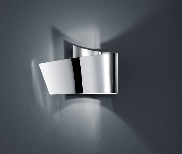 led wandleuchte in chrom modern wandlampe wand leuchte beleuchtung neu innen bad ebay. Black Bedroom Furniture Sets. Home Design Ideas