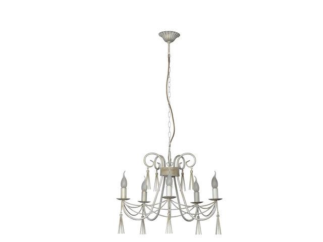 xxl kronleuchter 55cm shabby chic wei h ngelampe. Black Bedroom Furniture Sets. Home Design Ideas