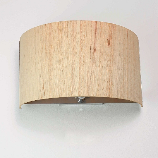Wohnzimmer Holz Modern: Wandlampe Holz E27 Wandleuchte Wandlampe Modern Wohnzimmer