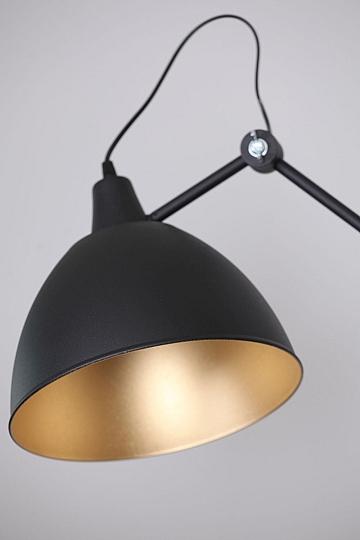 xxl leseleuchte 2 flexible arme wand lampe schwarz gold metall e27 modern design ebay
