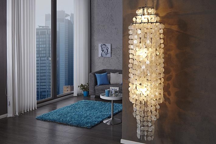 Lampe suspendue moderne artistique de aufregendem nacre salon ebay