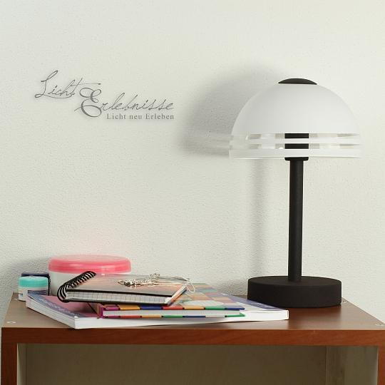 Rustikale Tischleuchte Tischlampe Nachttischlampe Lampe