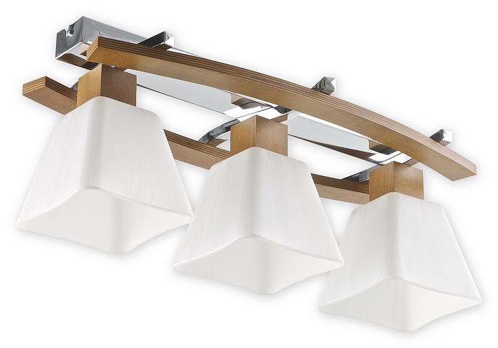 Lámpara de Techo E27 Madera Moderno Mesa Comedor Iluminación ...
