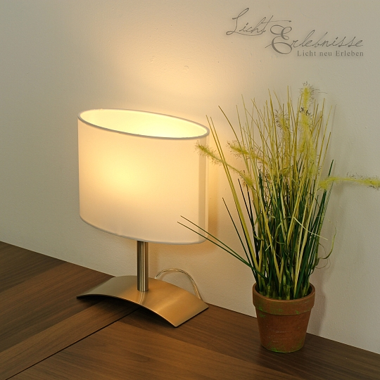 blanc led lampes de chevet table 4w h tel ebay. Black Bedroom Furniture Sets. Home Design Ideas