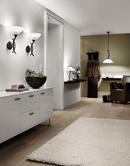 Lampe de Table H44cm E27 Blanc Luminaire Moderne Cuisine Intérieur ...