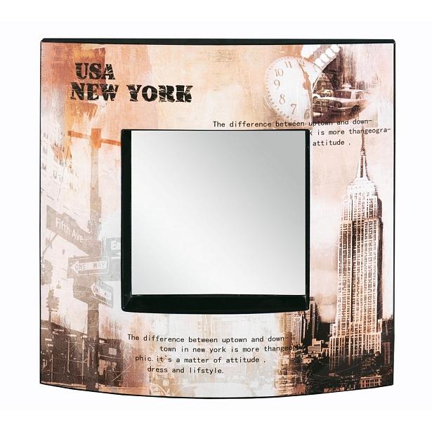 Dettagli su Nobile Specchio Jori Metallo Plexiglas Moderno Motiv-Rahmen New  York Soggiorno