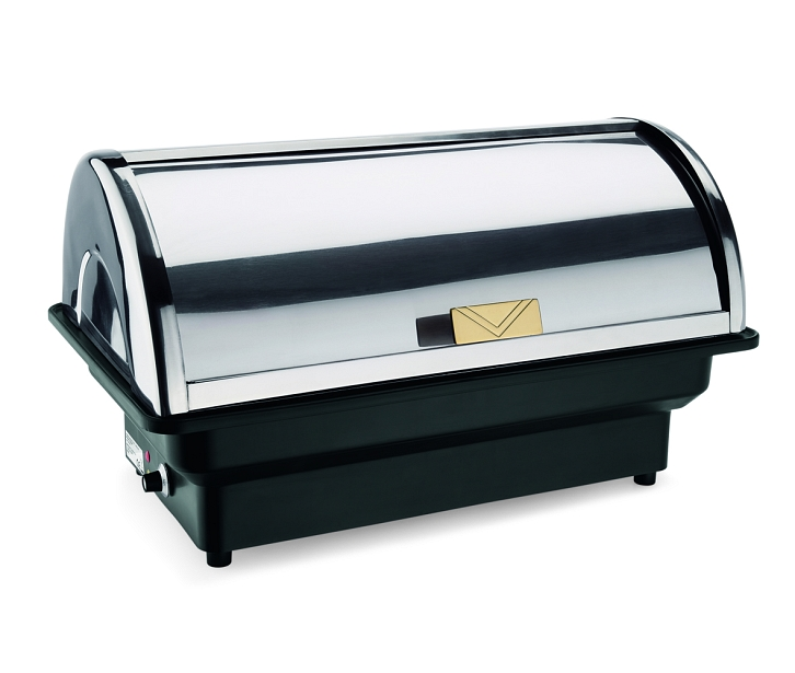 elektro chafing dish mit roll top deckel 500 w ebay. Black Bedroom Furniture Sets. Home Design Ideas